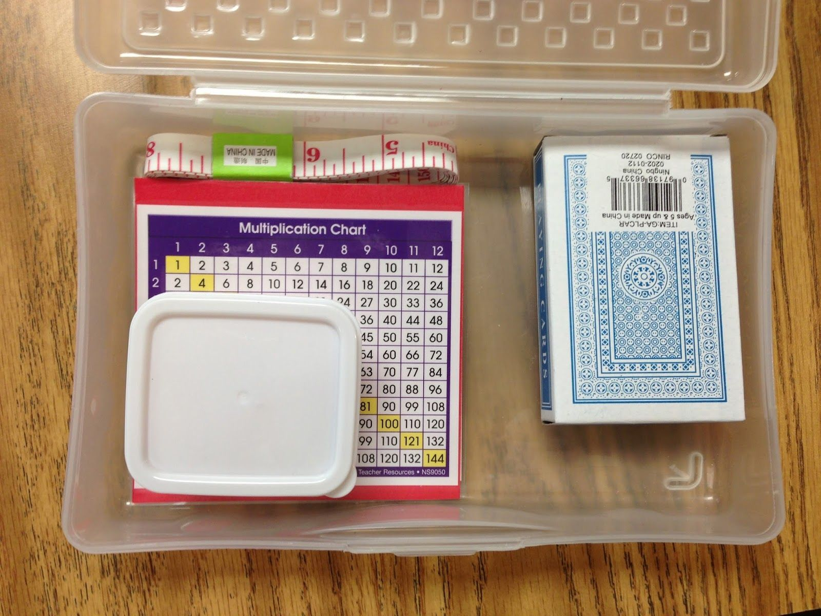 A Year of Reading: Home Math Learning Boxes