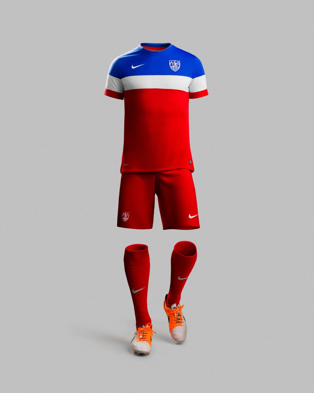 The U.S. national team's second 2014 World Cup jersey ...
