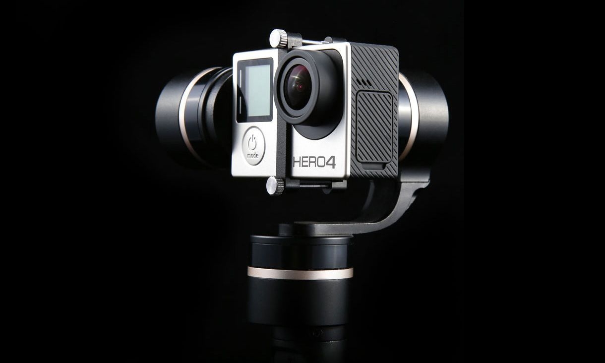 The new Feiyu G4 3-Axis Handheld Steady Gimbal for GoPro enables you to shoot clear photos and videos steadily.