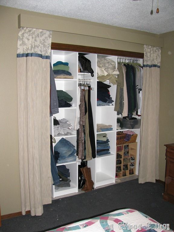 17 Best images about garde robe on Pinterest   Curtain rods, Shoe ...