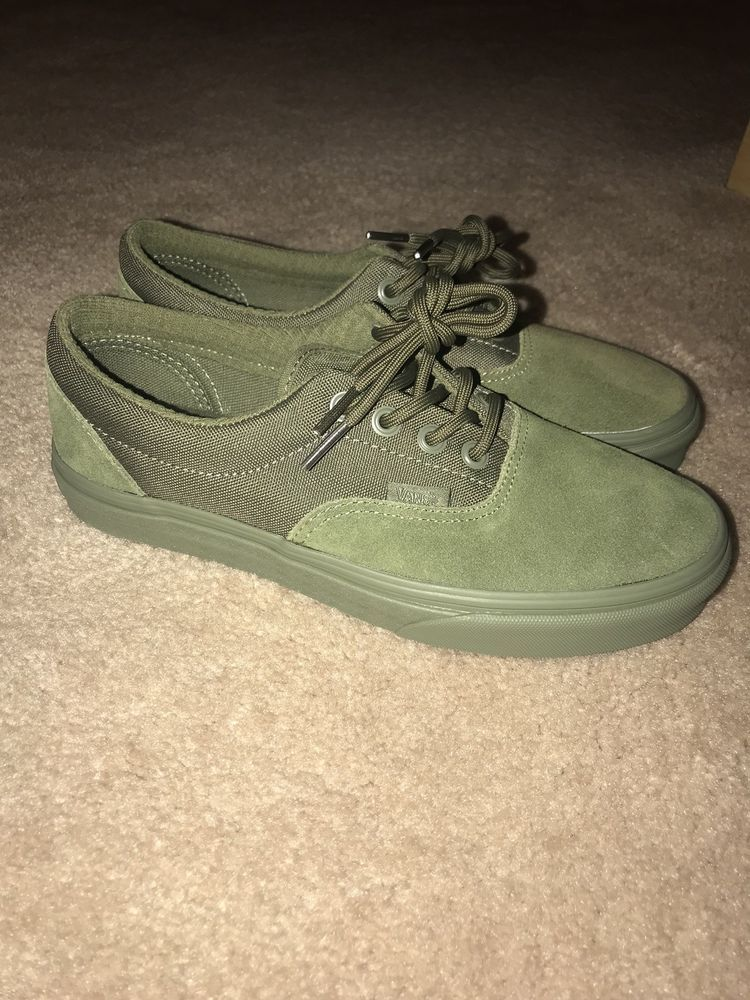 34f80e8fcf2 Vans Era (Military Mono) Winter Moss. Size Mens US 6 Womens 7.5 VN0A38FRQUW   fashion  clothing  shoes  accessories  mensshoes  athleticshoes  ad (ebay  link)