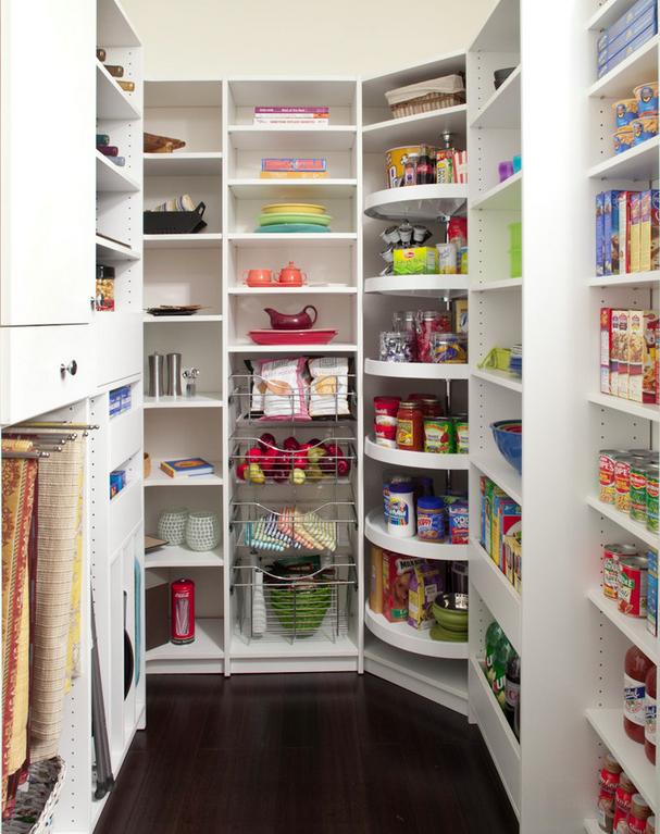 Cómo ganar espacio en una cocina pequeña | Despensa, El espacio y ...