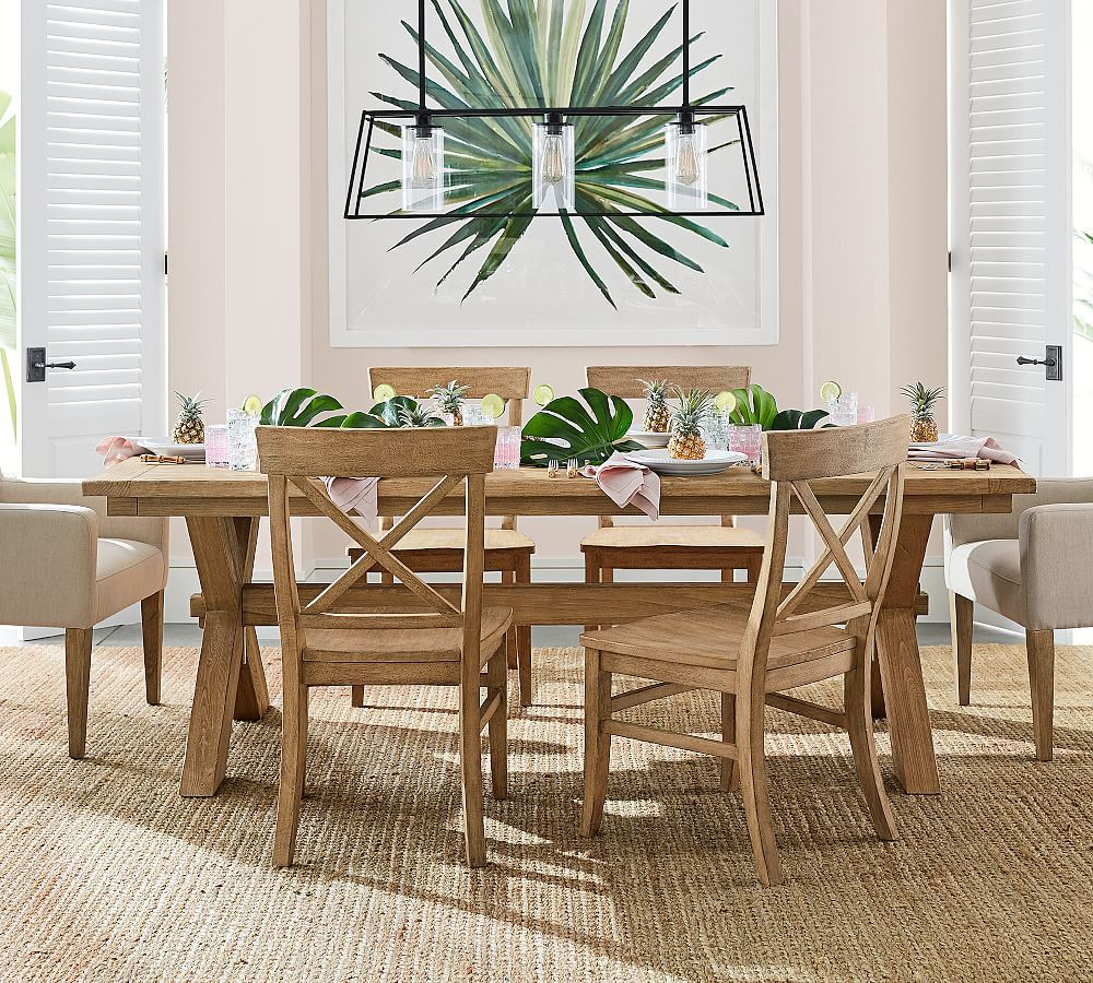 Toscana Extending Dining Table Seadrift Pottery Barn Dining Table Extendable Dining Table Chic Dining Room