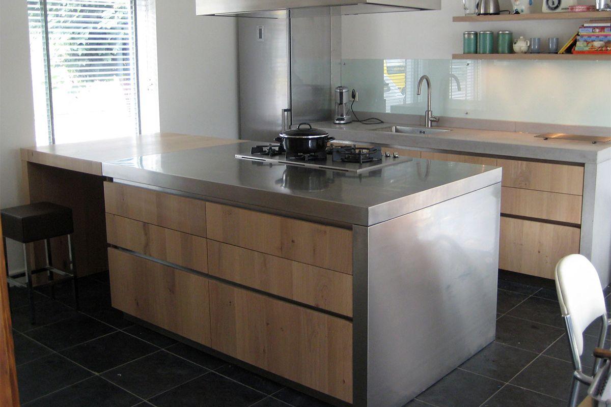 Houten Keukens Met Beton : Aanrecht beton Betonnen aanrechtblad Pinterest