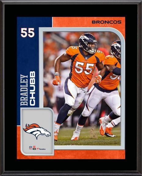9707e0e11 Bradley Chubb Denver Broncos 10.5