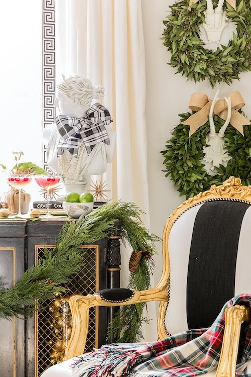 Inside the Holiday Homes by Famous Designers Erin gates, Christmas - southern living christmas decorations