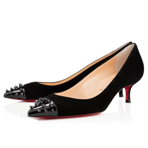 6efc9f33dc0 This pump adds just a touch of Monsieur Louboutin s signature spikes to the  tip of the toe