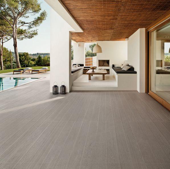 Deck Cinder By @leaceramiche 12x120 #indoor #outdoor #tiles #tegels  #tuintegels