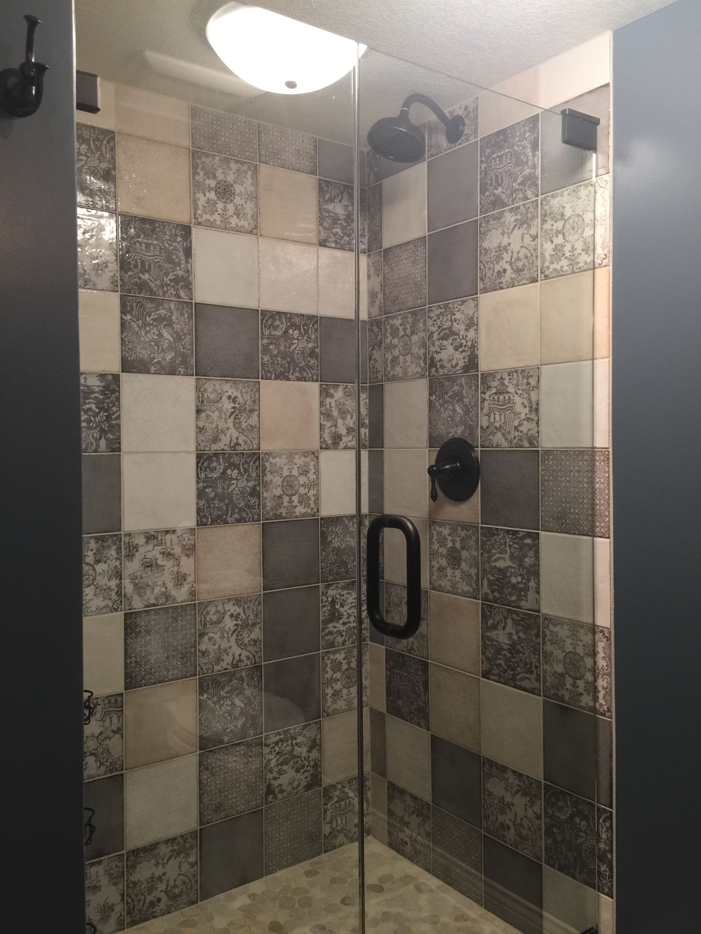 This Shower Turned Out So Beautiful Iris Ceramica Maiolica Ambiancefinishes Com Ambiance