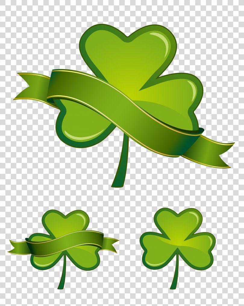 Saint Patricks Day Shamrock Four Leaf Clover Clip Art Vector Clover Png Saint Patricks Day Branch Clover Fourleaf Cl Clip Art St Patricks Day Clover Leaf
