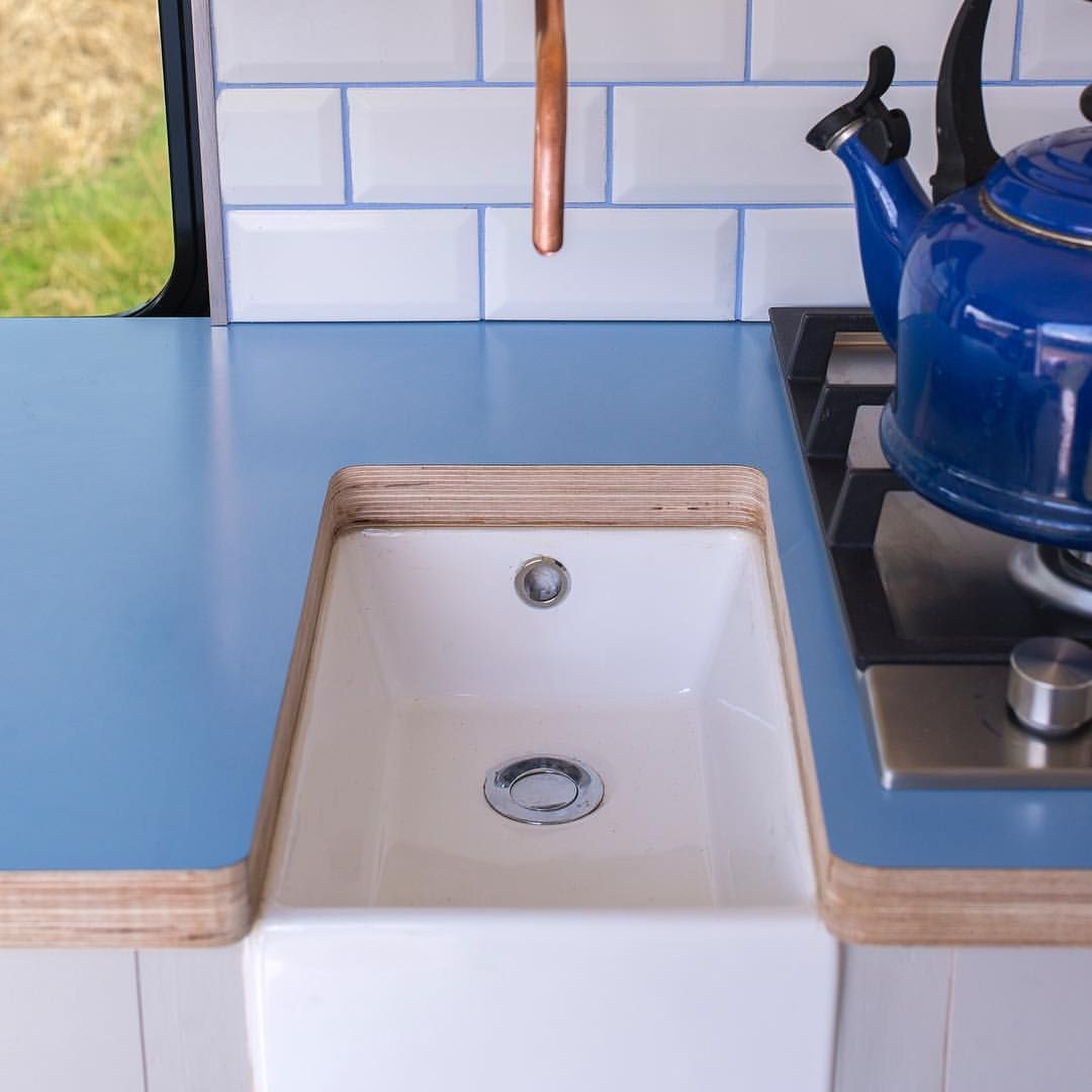 21++ Camper farmhouse sink ideas