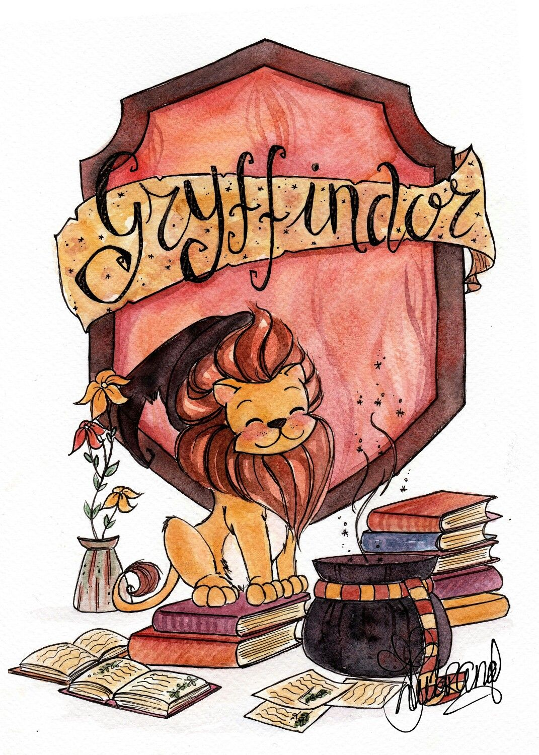 Gryffindor harry potter harry potter fandom harry potter memes harry potter houses - Harry potter dessin ...