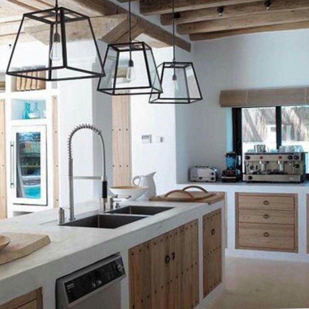 Pin de elena eduviges en cocinas y muebles de herrer a - Cocinas rusticas baratas ...