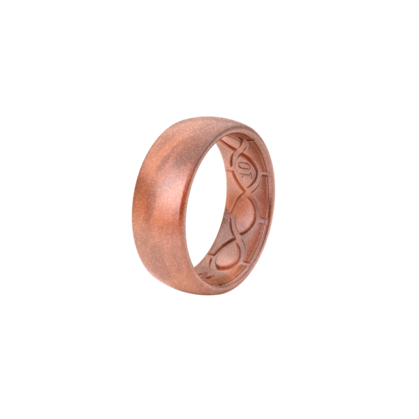 Groove Silicone Ring Copper