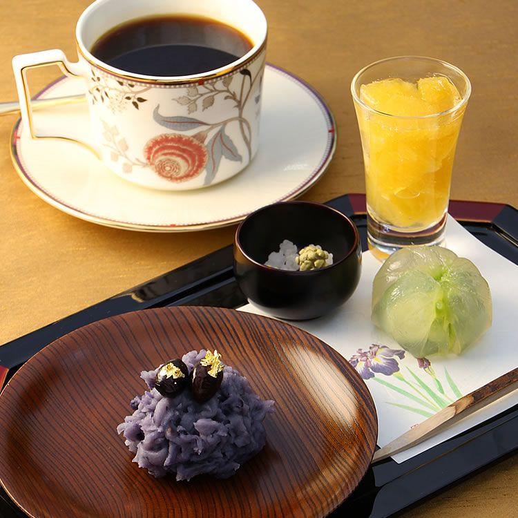 和スイーツセットウェスティンホテル大阪