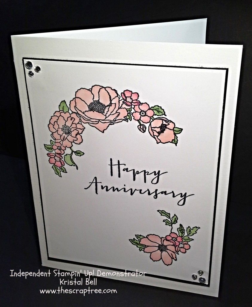 wedding anniversary card pictures%0A Stampin u     Up Timeless Love Stamp Set Stampin u     Up  Anniversary card  See more
