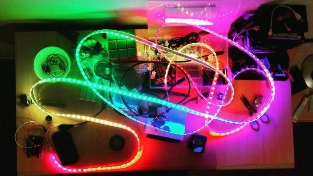 Arduino Mylab Fastled Ledstrip Leds By Fortu