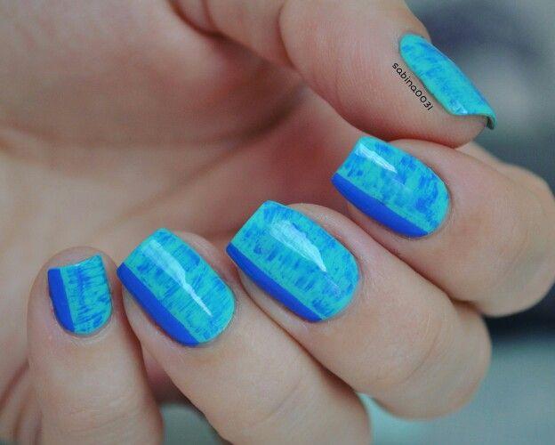 Dry brush technique nail art Inspired: Essie\'s Nail Art Award ...