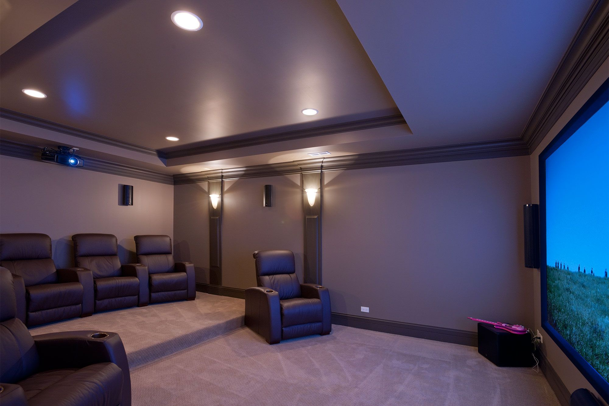 Wiring Speakers In Basement Theatre Google Search Home Theater Design