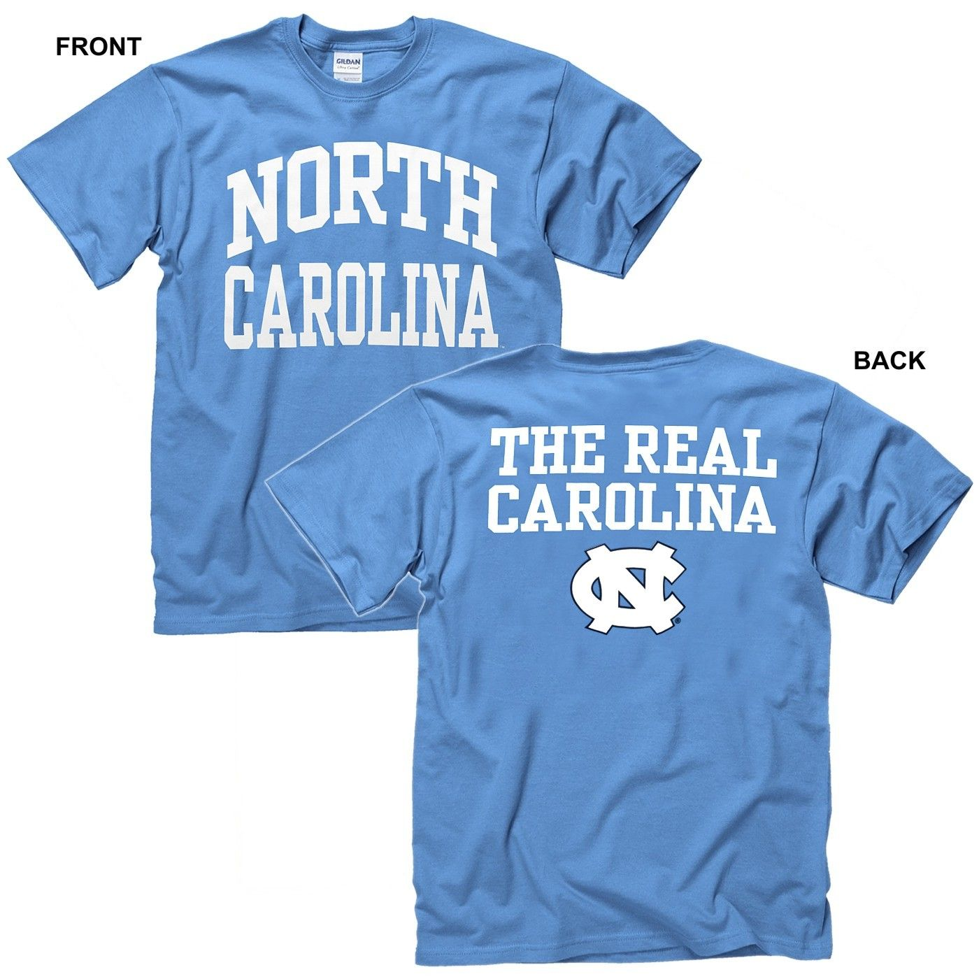 North Carolina Tar Heels Unc Classic Toddler Baby T Shirt Unc T