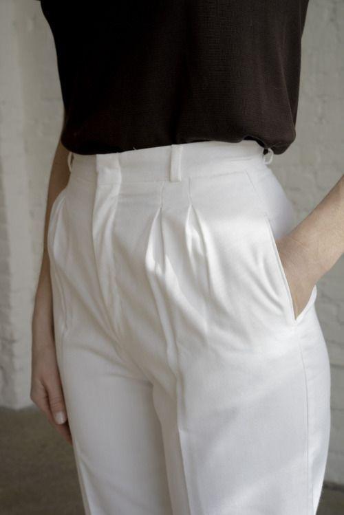 "thevamoose: "" High waist trousers - Passenger """