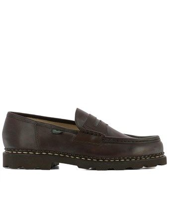 Pre-owned - LEATHER LOAFERS Paraboot anmaVu