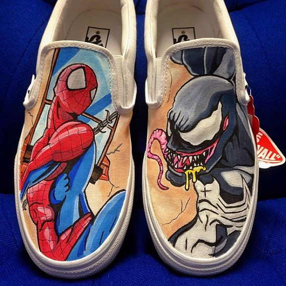 Spiderman Converse Shoes