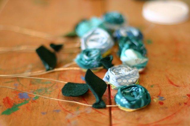 A Fabric Gift Bouquet - Namma's 70th Birthday - Flax & Twine