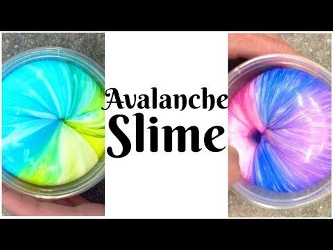 Avalanche Slime Instagram Slime Taylor And Vanessa Youtube