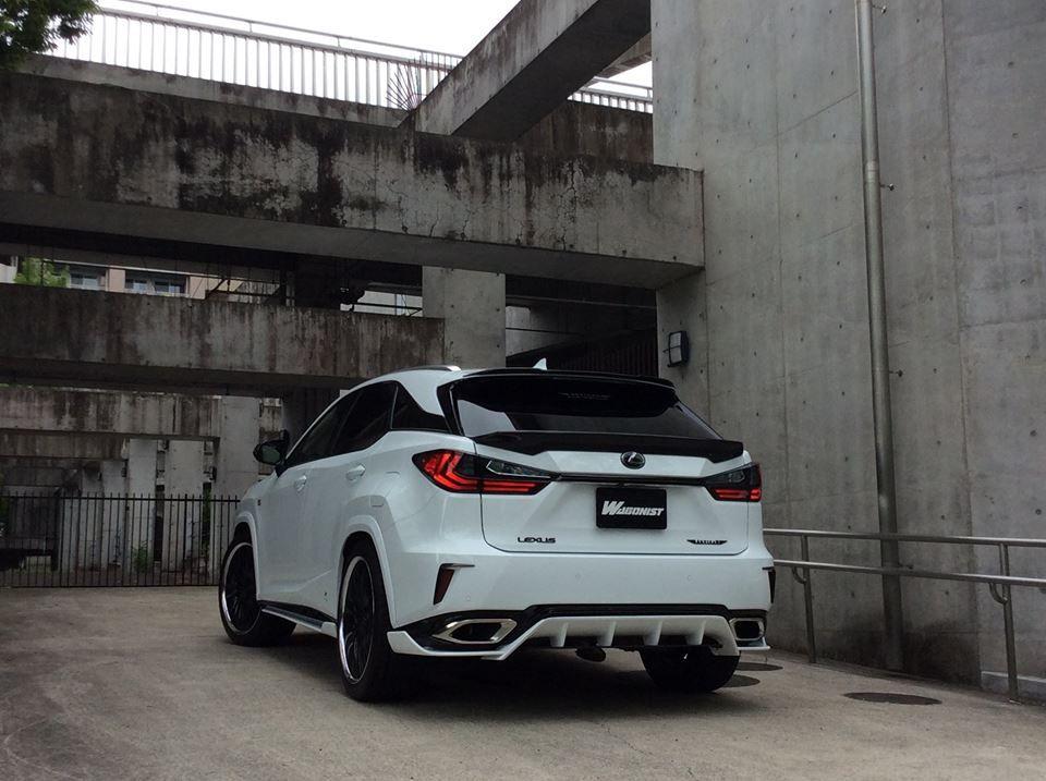 Lexus Rx Wide Body Kit By Artisan Spirits 5 Images Car Tuning Wide Body Kits Body Kit Wide Body