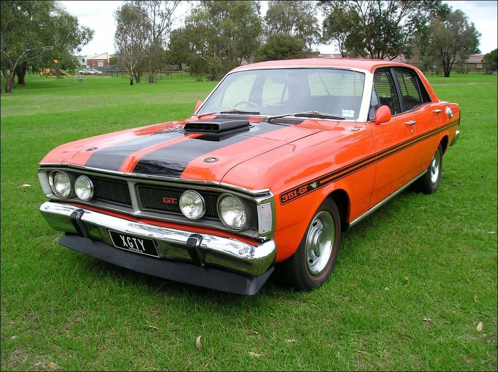 1971 Ford Falcon Gt Ho Phase Iii Australian Muscle Cars Aussie