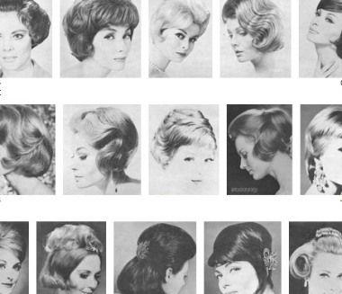 Frisur anleitung 60er