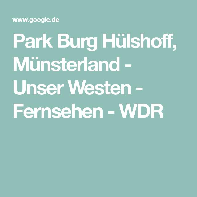 Park Burg Hulshoff Munsterland Burg Park Munsterlander