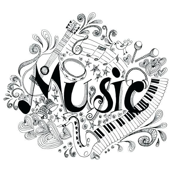 Music Coloring Pages For Adults Music Color Pages Brilliant Ideas Of Printable Music Mandala Colori Dibujos Musicales Paginas Para Colorear Ilustracion Musical
