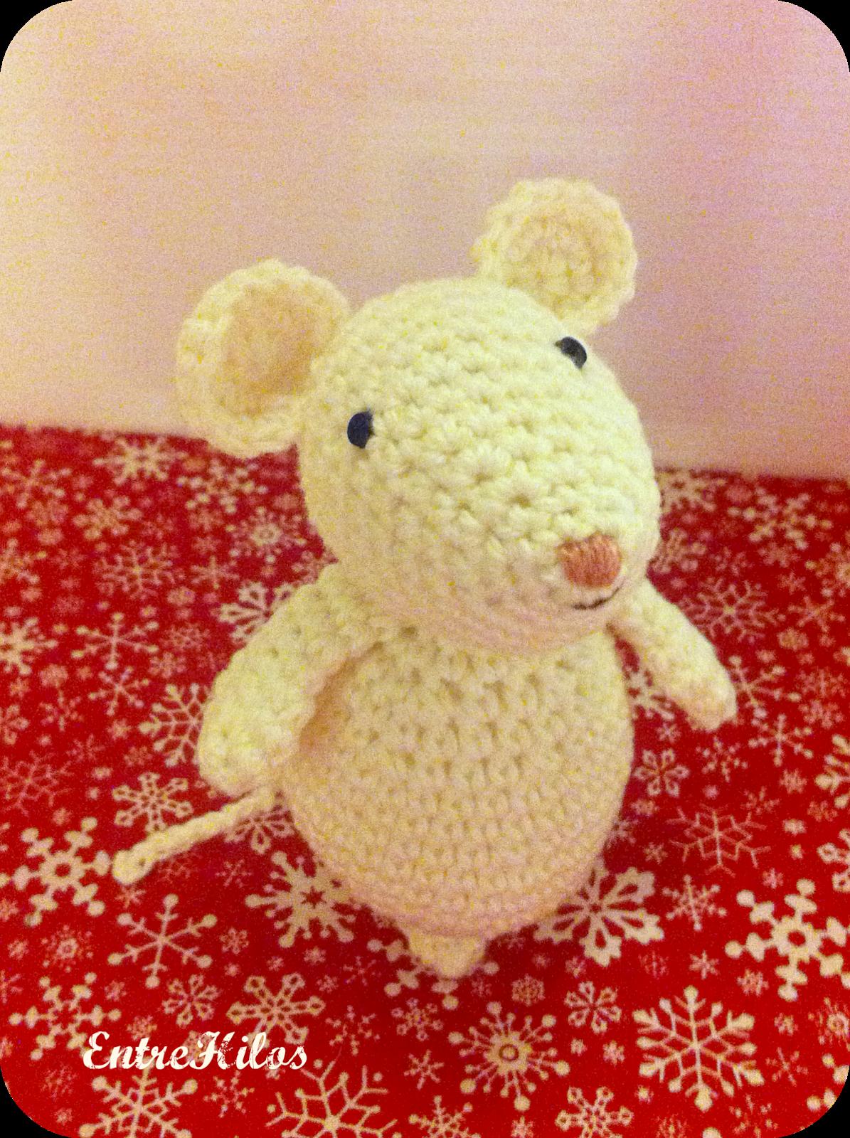TUTORIAL: Como hacer ratoncitos amigurumis navideñ
