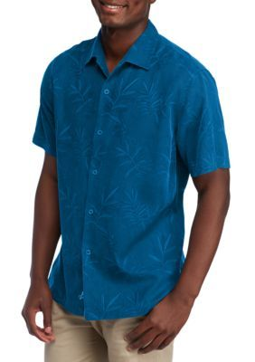 010fdfb9 Tommy Bahama® Luau Floral Short Sleeve Button Down Shirt | Products ...