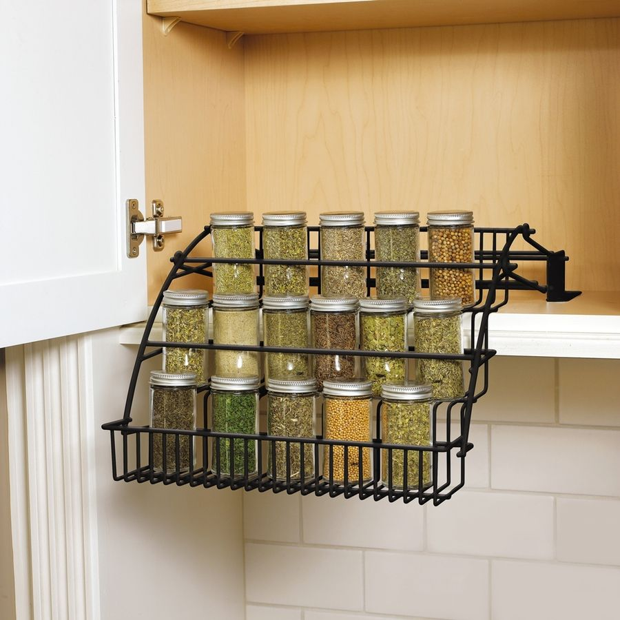Lowes Spice Rack Cool Shop Rubbermaid Coated Wire Incabinet Spice Rack At Lowes Decorating Inspiration