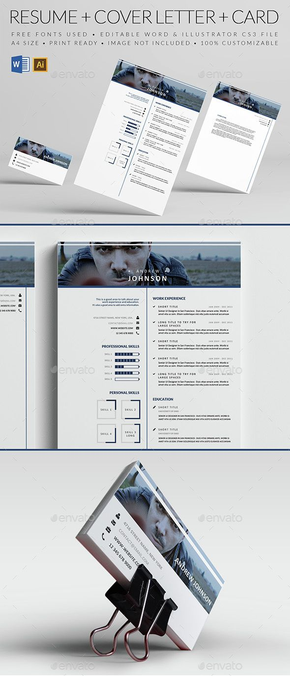 Blueish Resume   Cv template, Template and Simple resume template