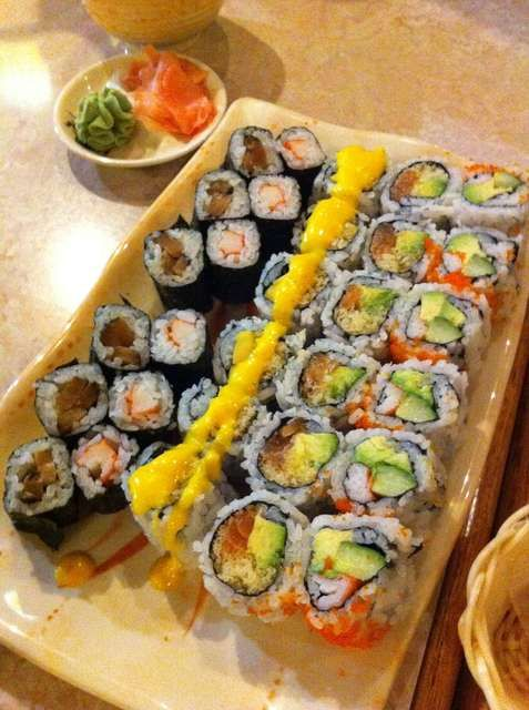 Awesome Sushi Garden    All You Can Eat!
