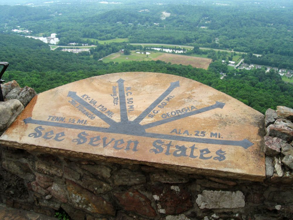 7 state view from lookout mountain travel ohio kentucky 7 state view from lookout mountain sciox Gallery