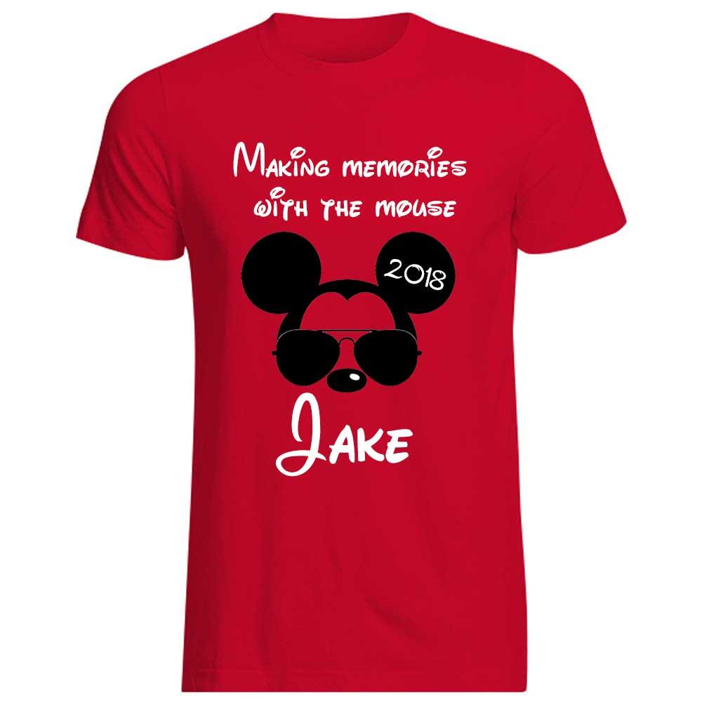 Minnie Mouse T Shirt Design | Mickey Mouse Vacation Shirt Making Memories With The Mouse Minnie