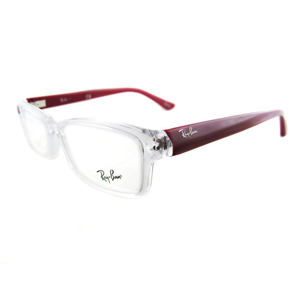 gafas ray ban montura transparente
