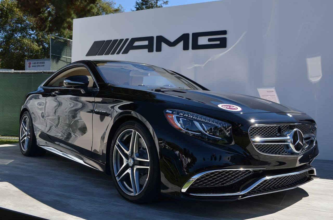 2015 Mercedes Benz S65 Amg The Mercedes Benz S65 Amg Sits On