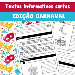 Código 653- Textos informativos curtos - ed. carnaval