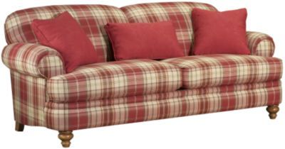 Just love this couch. not so crazy about the plaid, but the structure is what I am looking for.