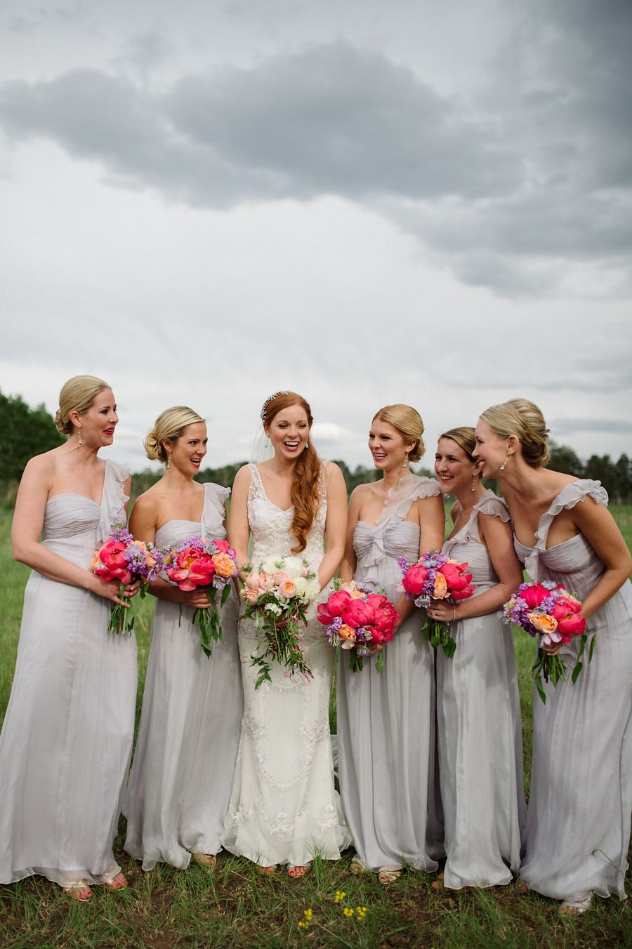 Telluride colorado wedding from chowen photography gray dress telluride colorado wedding from chowen photography grey bridesmaidsgrey bridesmaid dressesbridesmaid ombrellifo Images