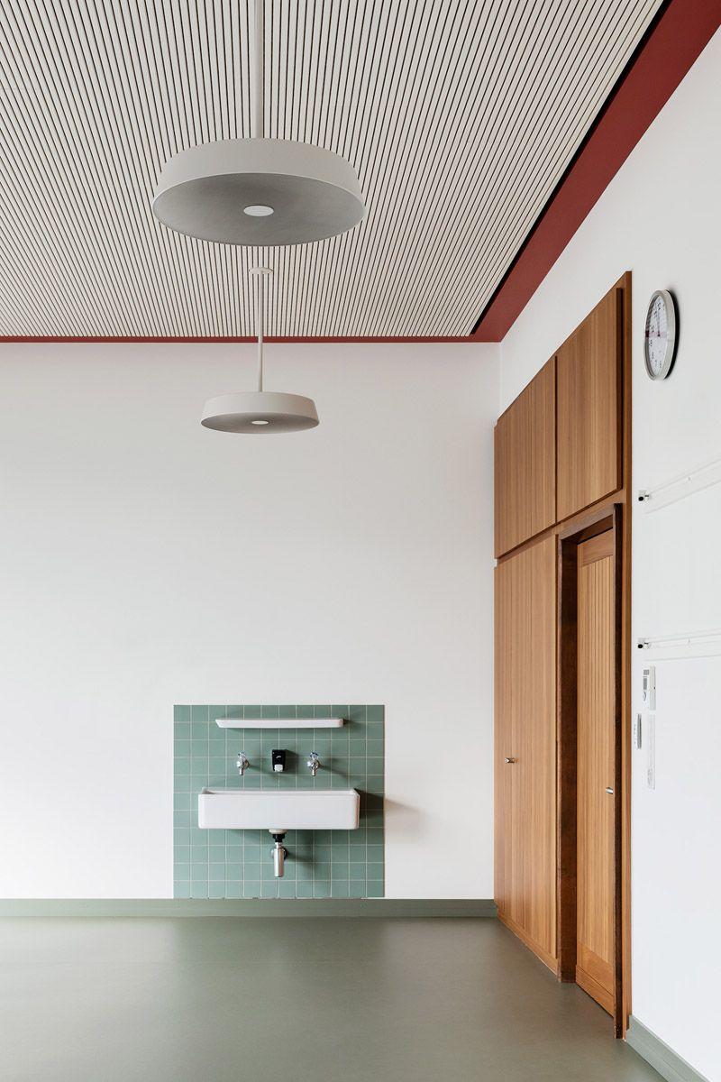 Menzi Brgler Architekten Gave A New Life To School Complex In Switzerland