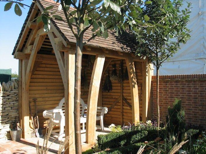 jardin abri de jardin pas cher genre cabanon de terrasse. Black Bedroom Furniture Sets. Home Design Ideas