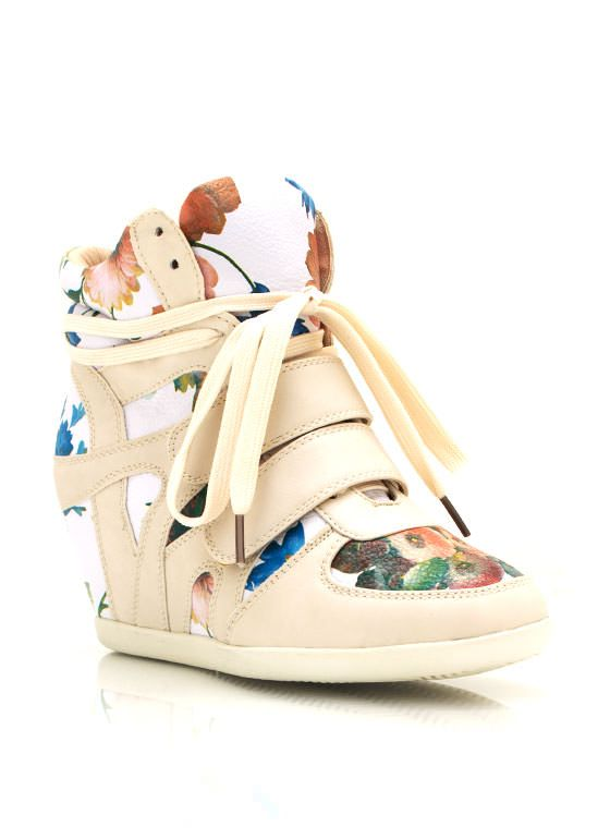 fd6531b24d6e floral wedge sneakers  36.30...I m so in love I cant take it ...