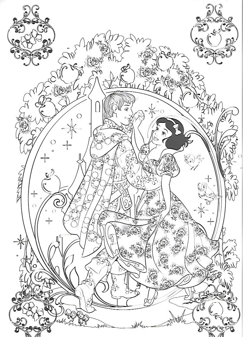 Disney Coloring Page Snow White Disney Coloring Pages Disney Princess Coloring Pages Coloring Pages
